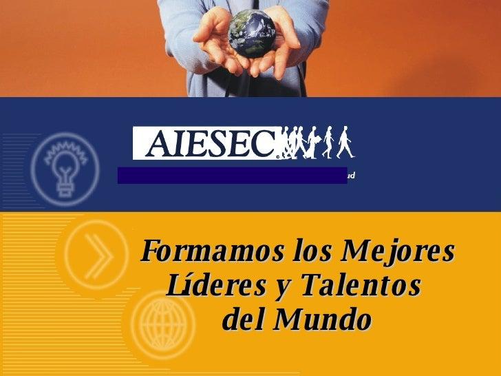 AIESEC PRESENTATION
