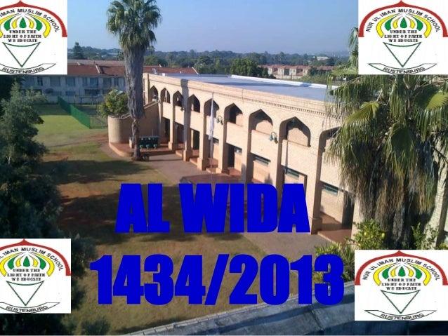 Ppt al wida-mNur-ul-Imaan Muslim School