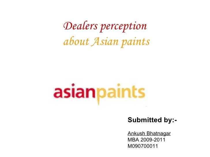 PPT Asian Paints