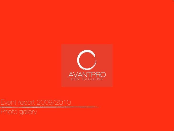 AvantPro: Event Engineering (English Version)