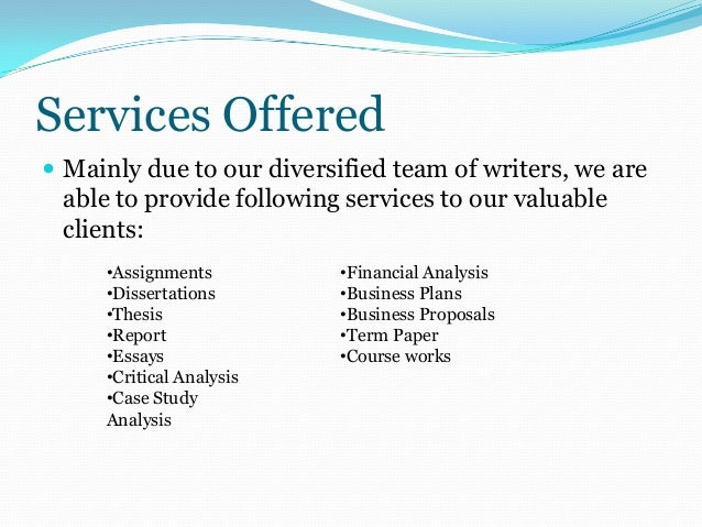 Professional academic writing company