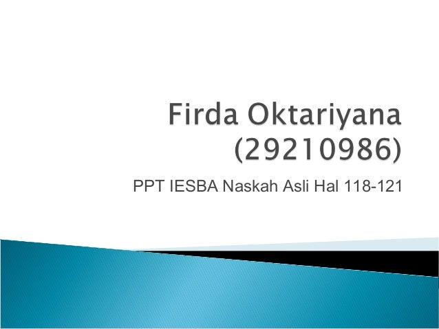 PPT IESBA Naskah Asli Hal 118-121