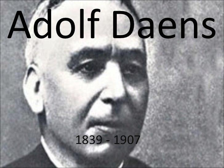 Adolf Daens 1839 - 1907