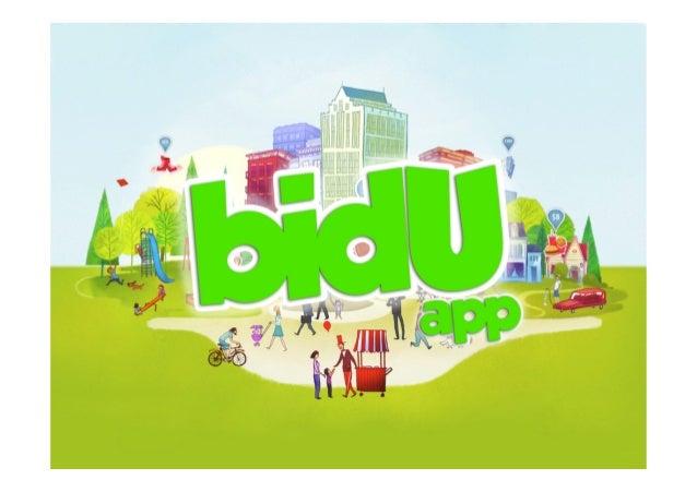 Marketing Plan bidU App