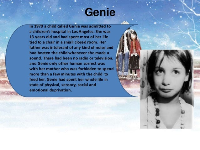 Dissertation On Wild Child Genie