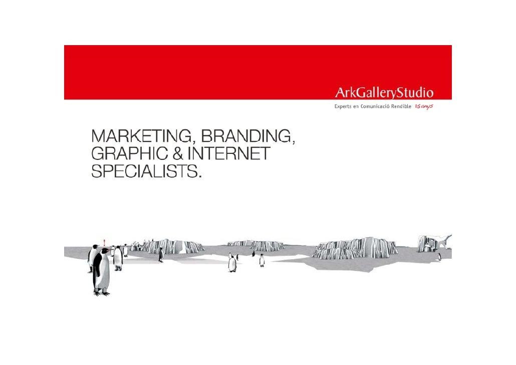 Ppt catàleg 2010 ark gallery studio marketing branding graphic internet