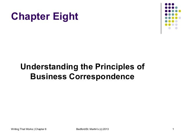 Chapter 8: Understanding the Principles of Business