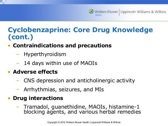 cyclobenzaprine 10mg duration