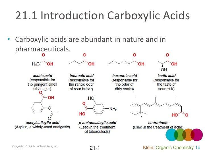 Organic Chemistry II Ch 21 Klein