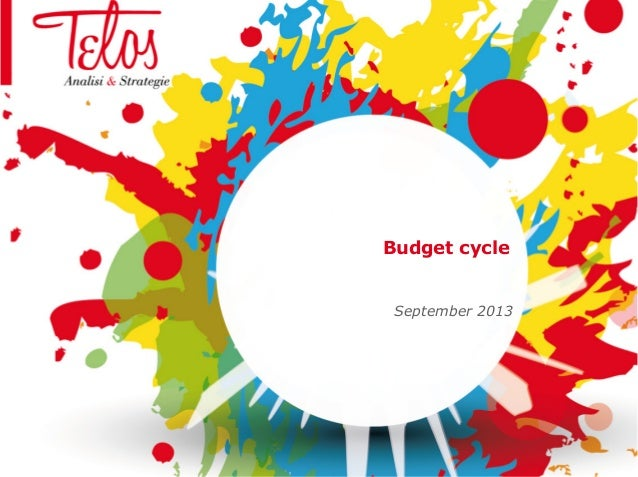 Budget cycle September 2013