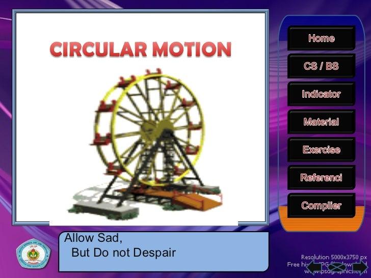 Ppt circular motion