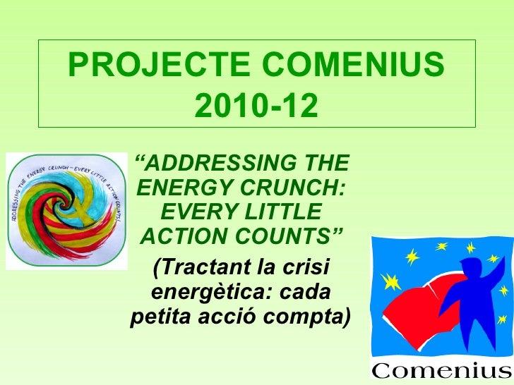 Presentació Resum del Projecte