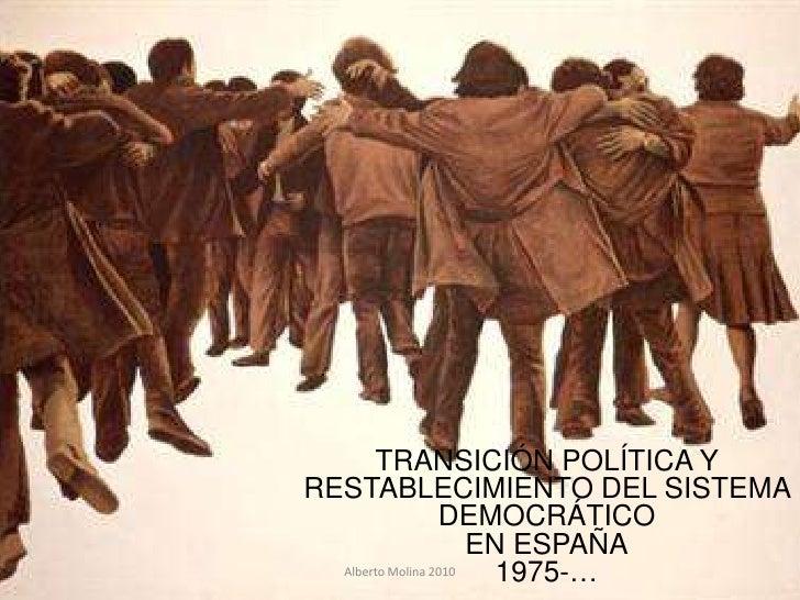 Ppt cmap transición política y restablecimiento del sistema democrático en