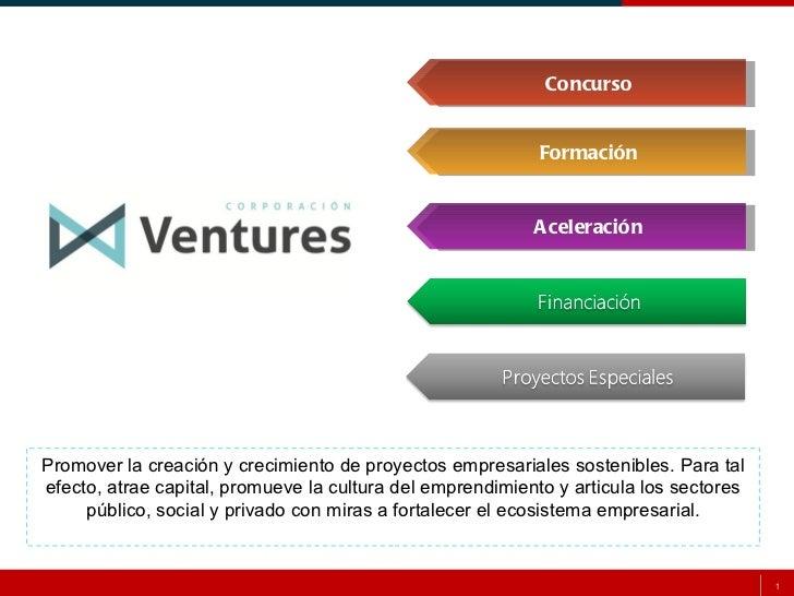Concurso Ventures 2012