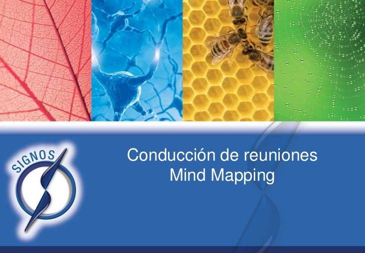Conducción de reuniones    Mind Mapping