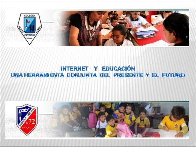 Esta experiencia educativa se funda en el   marco del programa Web-Escuela de   Fundación Educacional Collahuasi. Prog...