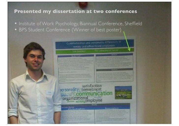 Bps best dissertation