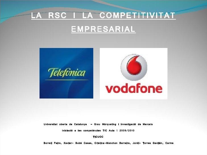 RSC TELEFONICA VODAFONE