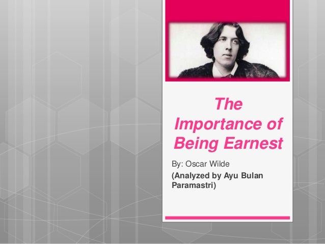 conflicts in the importance of being earnest essay In the importance of being earnest and the conflicts and struggles he goes up against to reach through his double life, the importance of being ernest.