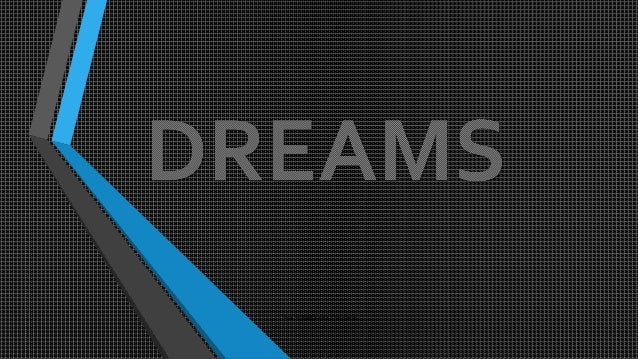 Ppt dreams cfund