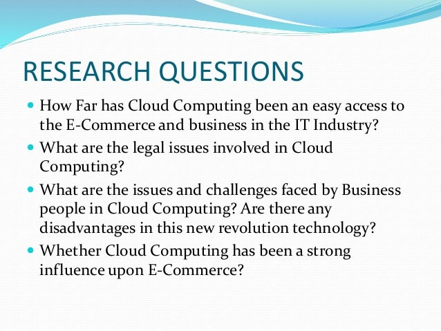 computing research paper Welcome to the ieee cloud computing web portal, a collaborative source for all things related to ieee cloud computing included are its initiatives on cloud computing, access to articles.