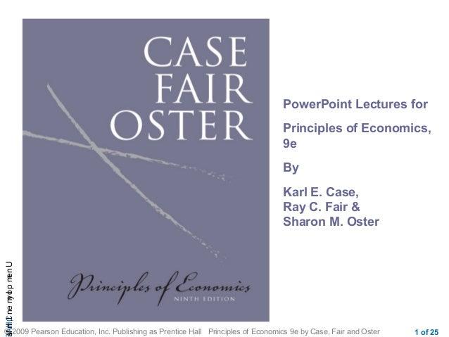 CHAUnemployment,Infl © 2009 Pearson Education, Inc. Publishing as Prentice Hall Principles of Economics 9e by Case, Fair a...