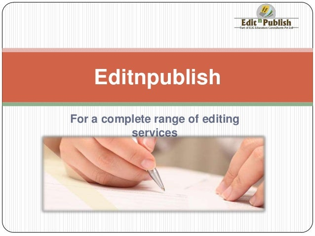Dissertation Editing Services Toronto