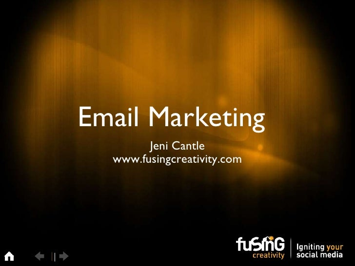 Email Marketing top tips for 2011