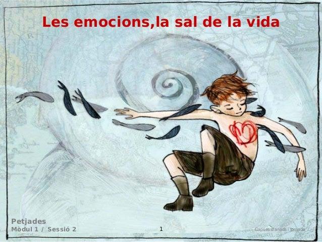 Les emocions,la sal de la vida  Petjades  Mòdul 1 / Sessió 2  Capses d'anada i tornada  1
