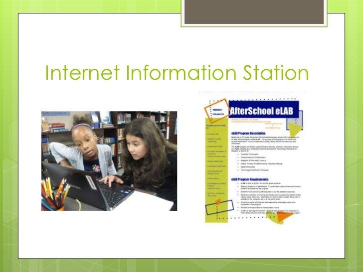 Internet Information Station