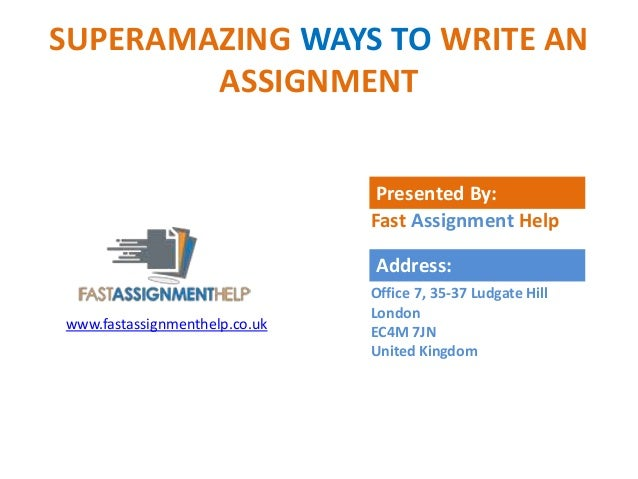 Fast write assignment