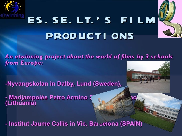 Presentation of ESSELT's FILM PRODUCTIONS