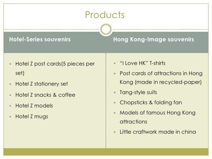 Business plan for a souvenir store