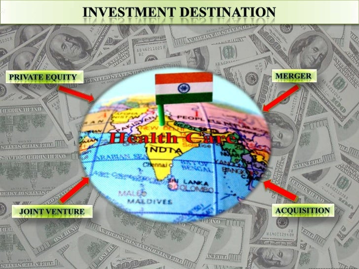 INVESTMENT DESTINATION<br />MERGER<br />PRIVATE EQUITY<br />Health Care <br />ACQUISITION<br />JOINT VENTURE<br />