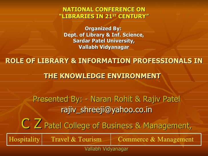 Ppt for national conference