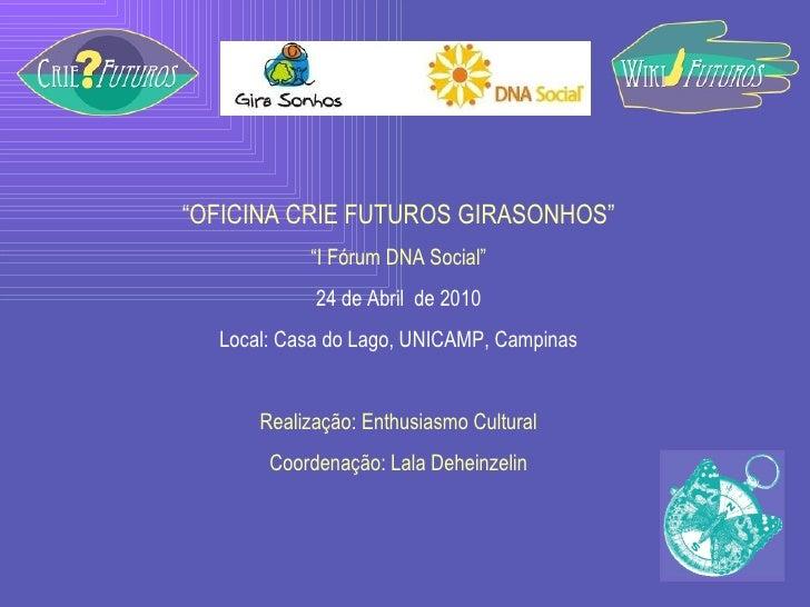 Ppt forum dna social   futuros criados