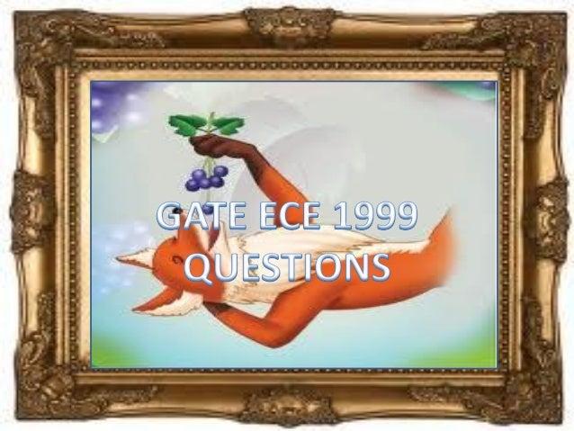 Pptgateece1999questions