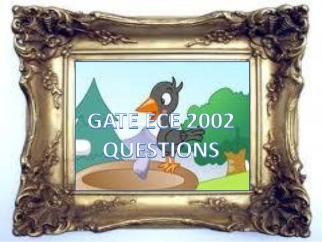 Pptgateece2002questions