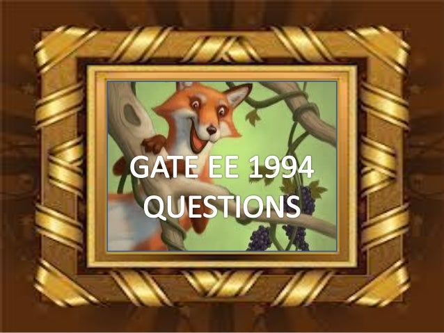 Pptgateeee1994questions
