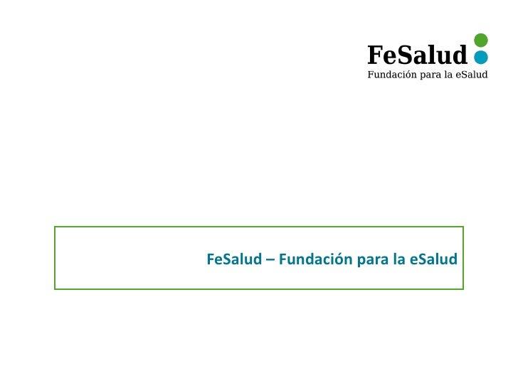 FeSalud – Fundación para la eSalud