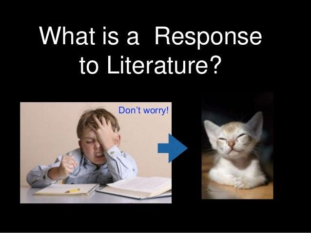 response to literature essay powerpoint Response to literature essay on recurring theme ppt video online  theme in  literature essay essay theme examples term paper essays best essay help  research.