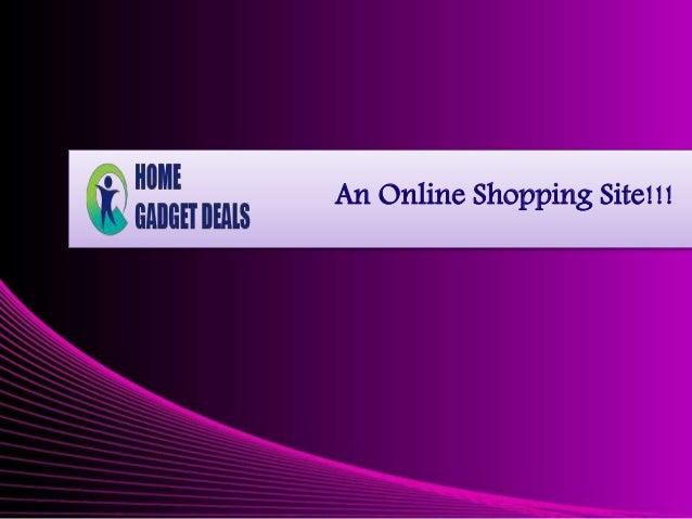 An Online Shopping Site!!!