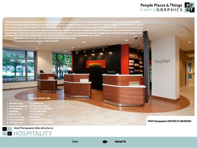 Hotel Photography Video eBrochures HOSPITALITY1 PP&T Photographics HOSPITALITY eBROCHURE 1 eBrochure Cover 2 Courtyard by ...