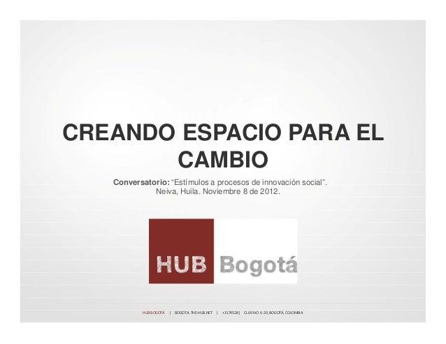 Hub Bogotá