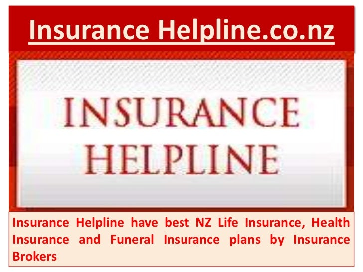 Insurance Helpline.co.nzInsurance Helpline have best NZ Life Insurance, HealthInsurance and Funeral Insurance plans by Ins...