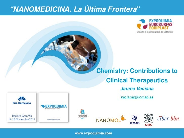 """NANOMEDICINA. La Última Frontera""                           Chemistry: Contributions to                                Cl..."