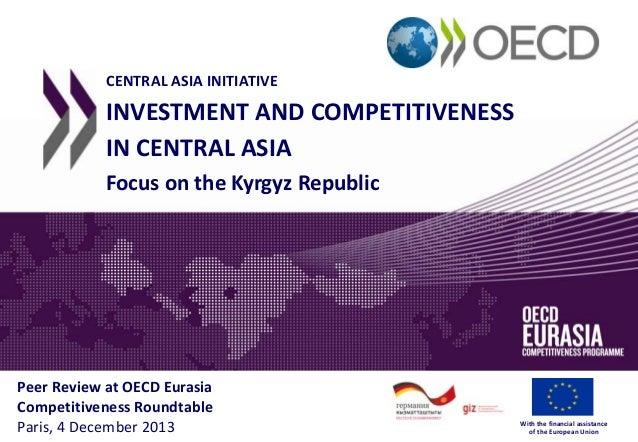 Kyrgyz Republic - Competitiveness recommendations