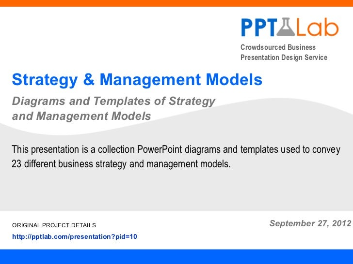 Crowdsourced Business                                                         Presentation Design ServiceStrategy & Manage...