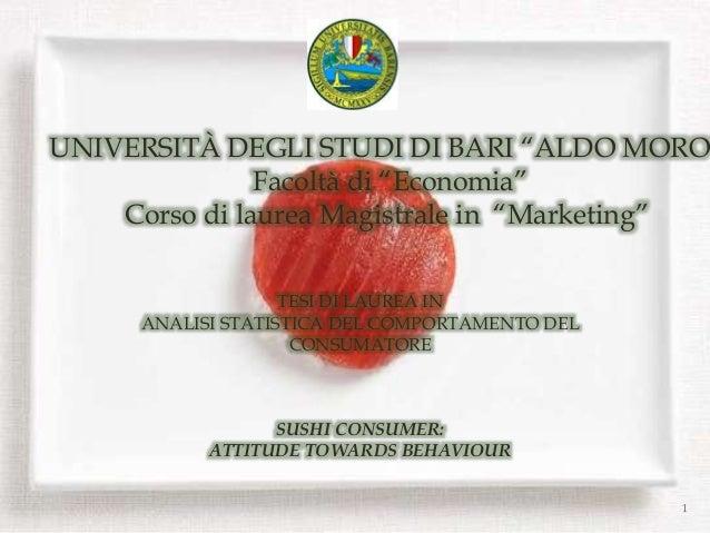 Dissertation ideas for consumer behaviour