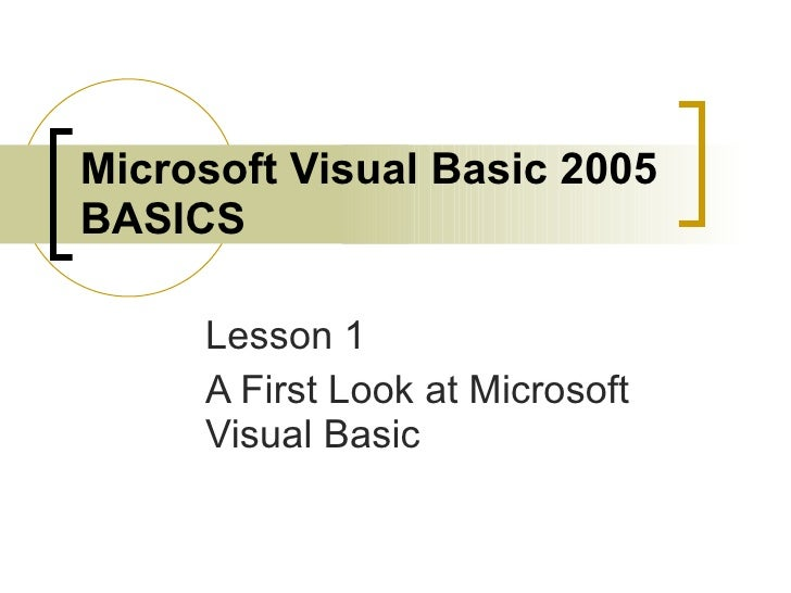 PowerPoint Lesson 1